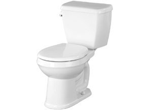 "Gerber Avalanche 15"" Round Toilet Bowl - White"