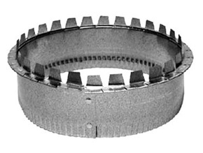 "10"" Crimped Take-Off Collar"