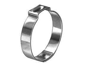 "3/4"" Stainless Steel Pinch Clamp 1.008"" Open Size, .898"""