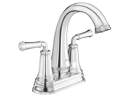 Delancey Centerset 2 Handle  Faucet Chrome