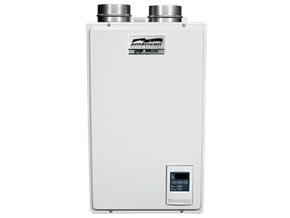 NG, Indoor Condensing Tankless Water Heater, 140k