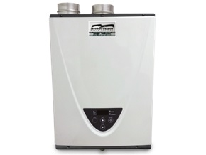 Indoor Condensing Tankless Water Heater, NG, 199,000 BTU