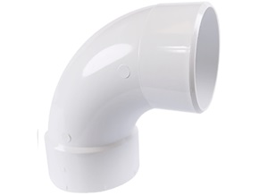 "Sch 30 3"" 90 Sanitary Street Elbow"