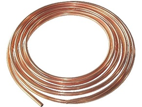 "1/2"" x 60' Type K Soft Copper Tube Coil"